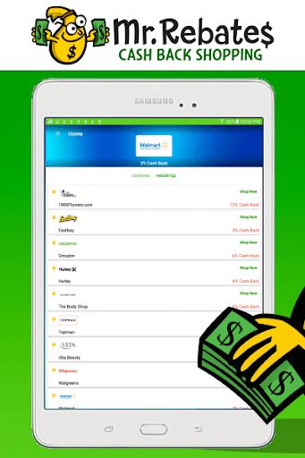 Mr. Rebates: Cash Back Savings 1.4.3 Screenshots 6