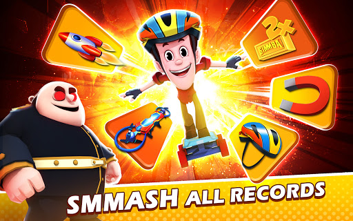 Smaashhing Simmba - Skateboard Rush android2mod screenshots 14