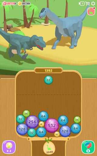 Dino 2048: Merge Jurassic World 1.0.9 screenshots 6