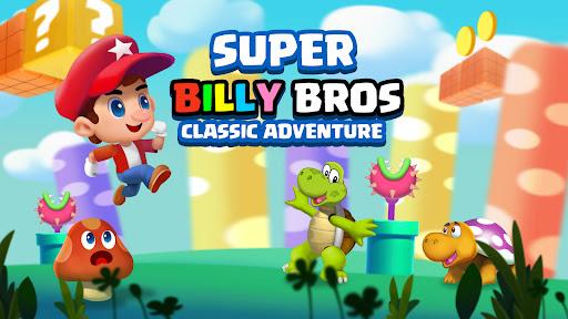 Super Billy Bros - Classic Adventure of Jump & Run apkpoly screenshots 1