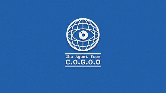Schermata dell'agente COGOO (campo minato)