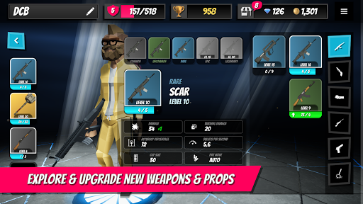 1v1Battle - Build Fight Simulator apkpoly screenshots 3