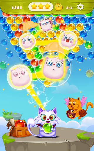 Bubble Shooter: Free Cat Pop Game 2019 1.22 screenshots 5