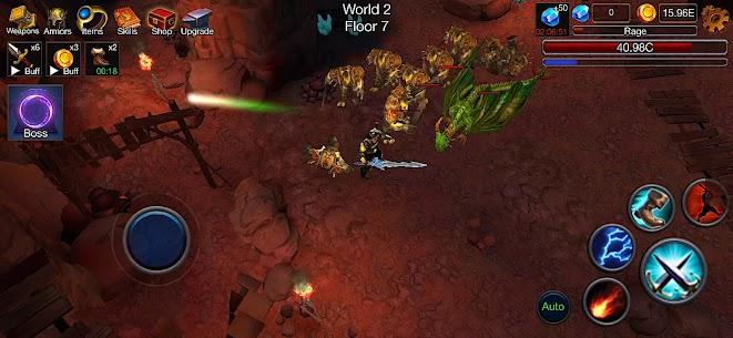Dungeon Clash Mod Apk- 3D Idle RPG (Unlimited Gold/ Diamonds) 4