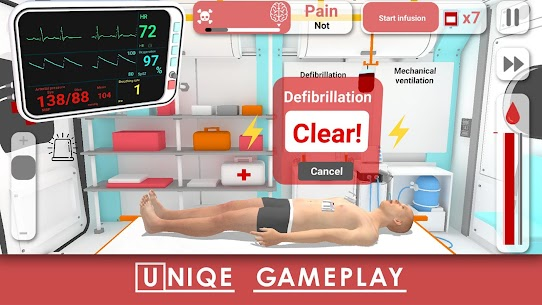 Reanimation inc. 911 Realistic Doctor Simulation Apk Download 2021 3
