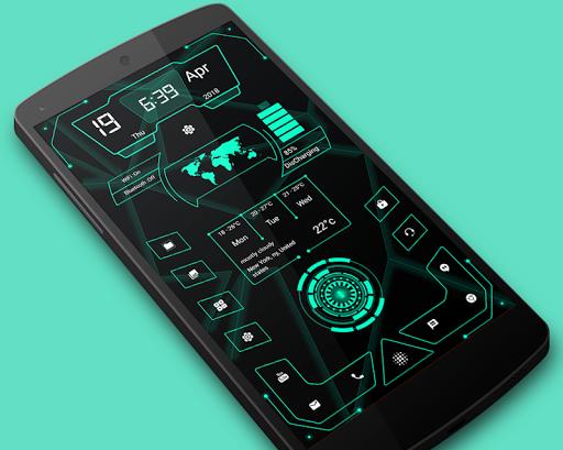 High Style Launcher 2020 - hitech homescreen theme 37.0 Screenshots 1