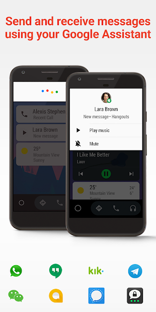 Android Auto - Google Maps, Media & Messaging screenshot 3