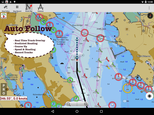 i-Boating:Marine Navigation Maps & Nautical Charts modavailable screenshots 9