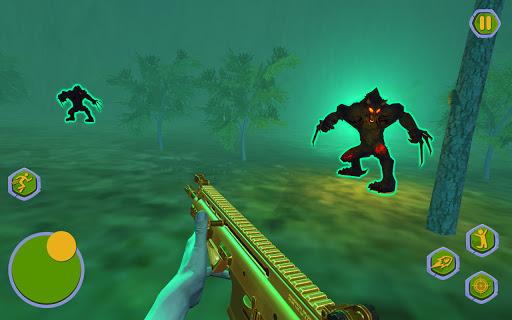 Werewolf Games : Bigfoot Monster Hunting in Forest 1.1 screenshots 9