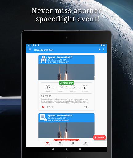 Space Launch Now - Watch SpaceX, NASA, etc...live! apktram screenshots 6