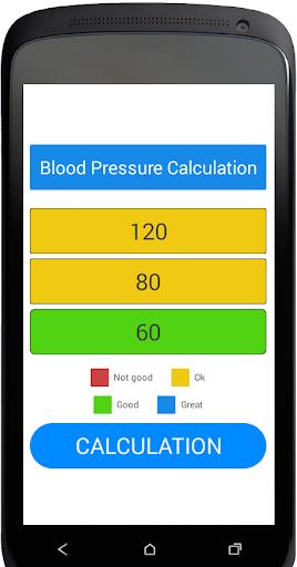 Blood Pressure Calculation 1.1.1 screenshots 5