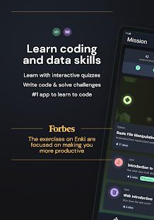 Enki: Learn data science, coding, tech skills 2.6.2 Screenshots 17