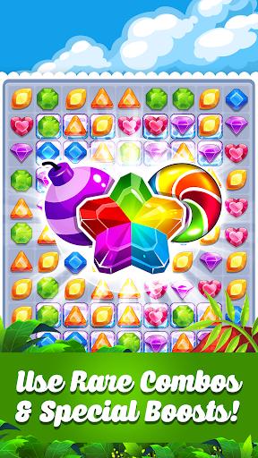 Addictive Gem Match 3 - Free Games With Bonuses  screenshots 1