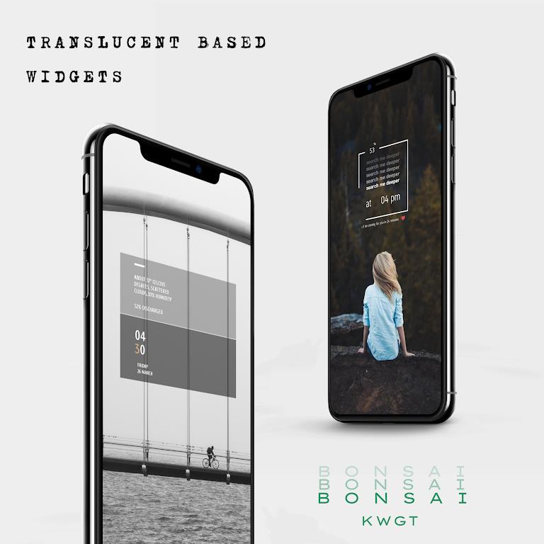 Bonsai KWGT  poster 1