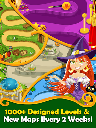 Witchy Wizard: New 2020 Match 3 Games Free No Wifi 2.1.7 screenshots 19
