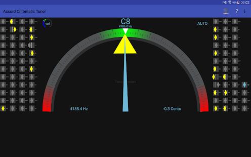 Accord Chromatic Tuner