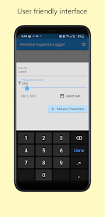 Personal Expense Logger Pro For Android 2