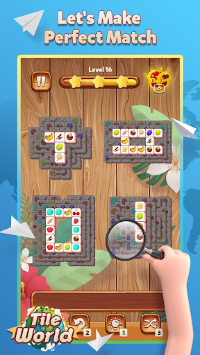 Tile World - Fruit Candy Puzzle  screenshots 2