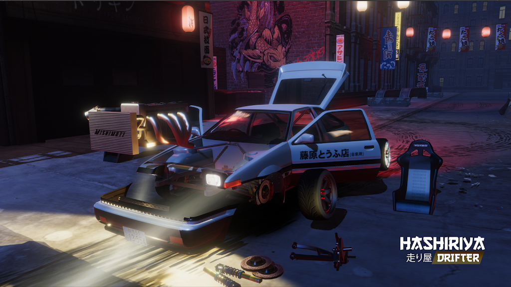 Hashiriya Drifter Online Drift Racing Multiplayer MOD poster 0
