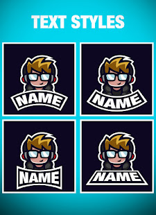 Logo Esport Maker - Create Gaming Logo with Name 0.5 Screenshots 4