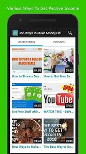 365 Ways to Make Money Online 💸 PASSIVE INCOME 💸 3.3 Android Mod + APK + Data 2
