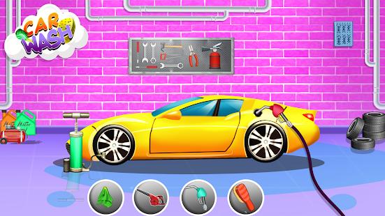 Car Wash- Kids Car Wash Cleaning Service Game 2021 1.1.4 screenshots 1