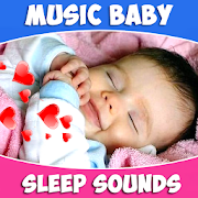 Baby sleep sounds: white noise, nature