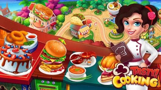 الطبخ اللذيذ: ألعاب طبخ مطعم الشيف 2