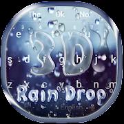 3D Falling Raindrop Keyboard