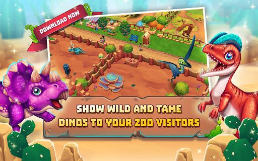 Dinosaur Park u2013 Primeval Zoo apkpoly screenshots 11