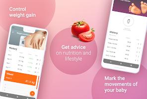 screenshot of Pregnancy Tracker Week by Week