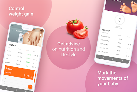 Pregnancy Tracker Week by Week Screenshot