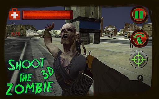 shoot the zombie: dead city 3d screenshot 1
