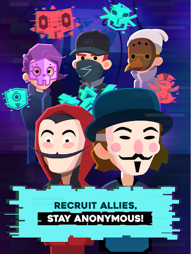 Hacking Hero - Cyber Adventure Clicker screenshots 15