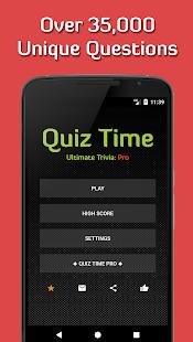 quiz time 2020: ultimate trivia [free & offline] hack