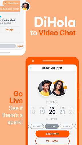 DiHola Dating App screenshot 2