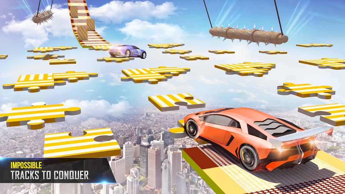 Mega Ramp Car Stunts Racing 2 screenshot 2