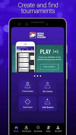 aca cornhole tournament game screenshot 1