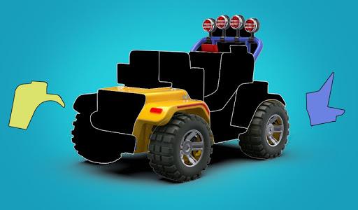 kids cars puzzle lite screenshot 1