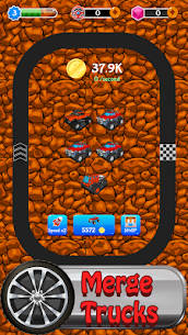 Merge Monster Car – idle miner tycoon 1.0.1022 APK + MOD (Unlocked) 1