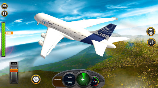 Airplane Real Flight Simulator 2020 : Plane Games 5.6 screenshots 1