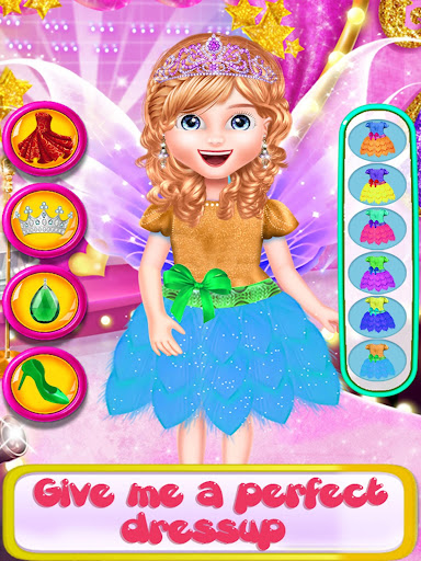 Fairy Fashion Braided Hairstyles games for girls apkpoly screenshots 6