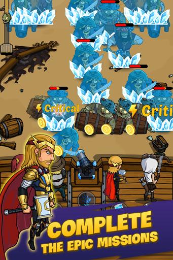 Zombie War: Idle Defense Game  screenshots 17