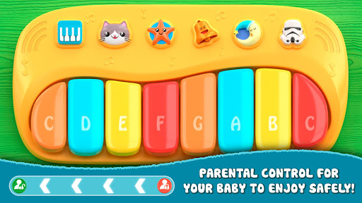 Piano for babies and kids 1.3 screenshots 1