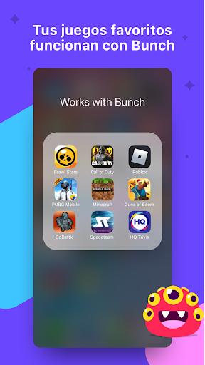 Bunch: Video Chat de grupos y juegos de fiesta
