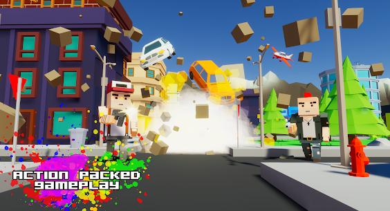 Gangster && Mafia Block City Dude Theft Pixel Car MOD APK 1.09 (Unlimited Money) 9