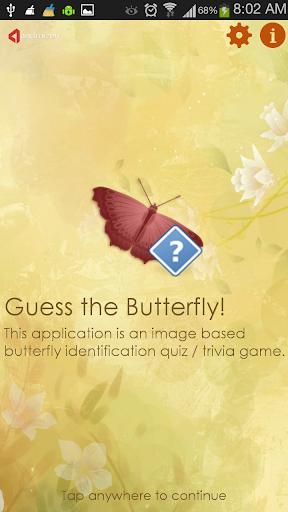 guess the butterfly-photo quiz screenshot 1