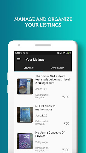 BookSyndy - Find and sell used books in your area  screenshots 4