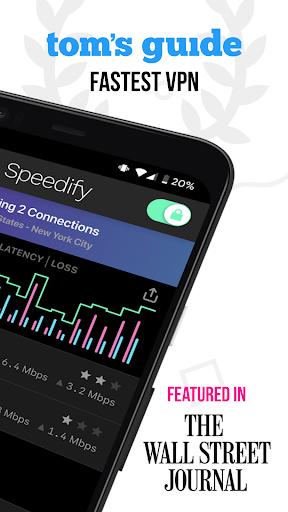 Speedify - Fast & Reliable VPN  screenshots 2