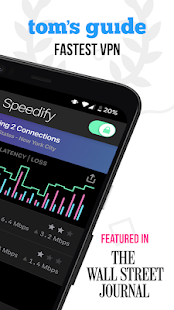 Speedify - Fast & Reliable VPN Screenshot